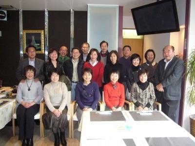 古川橋 紫山で 大阪市立高校S48年卒有志の同窓会を開催しました。