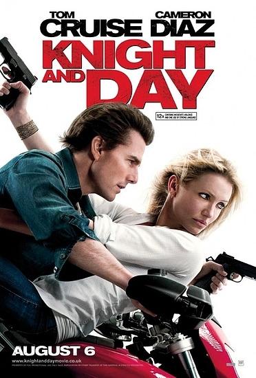 映画「ナイト・アンド・デイ」 トム・クルーズとキャメロン・ディアスの主演です