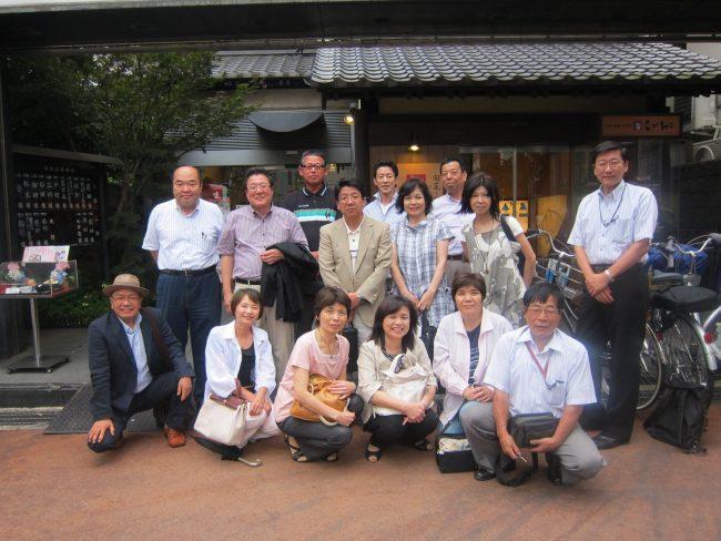 2011.寝屋川一中増地保男先生クラス同窓会開催しました