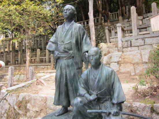 京都 円徳院  坂本龍馬の墓