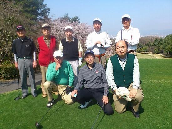 2012.関西学院大学同窓会枚方支部親善ゴルフ大会開催されました