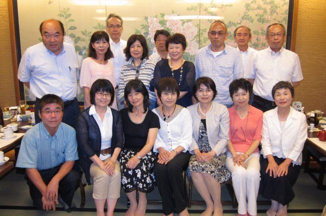大阪市立高校3年7組のクラス同窓会を開催しました.2012