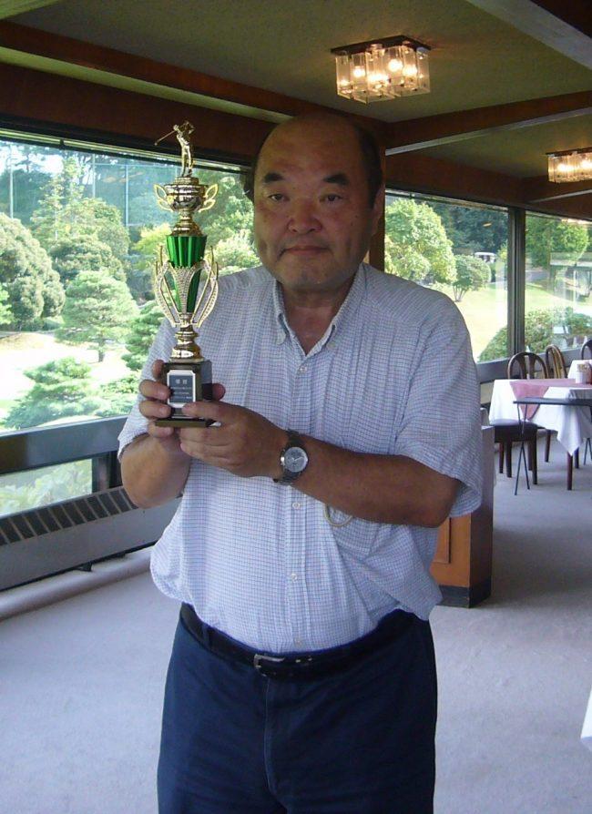 2012.なんとゴルフ優勝です・・・