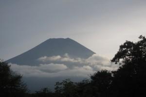 忍野八海からの富士山は絶景です