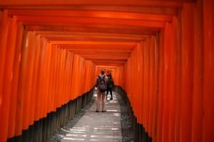 外国人が行きたい日本の名所No2 京都伏見稲荷