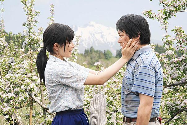 映画「奇跡のリンゴ」をDVDで観ました