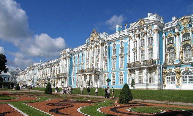 エカテリーナ宮殿(ロシア) 世界の有名建築