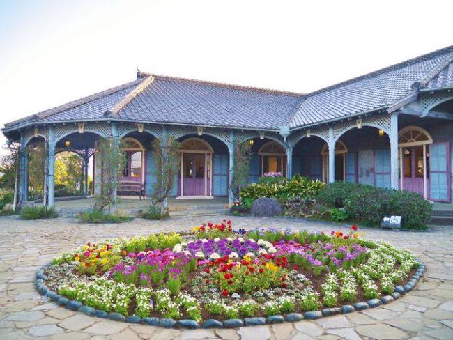 観光地で有名な長崎の旧グラーバー邸って、日本最古の・・・