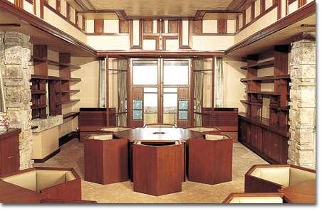 あの有名な建築家フランク・ライド・ロイド設計のヨドコウ迎賓館