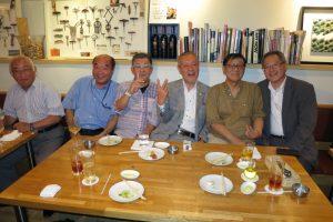 2017夏 ハノーバ同窓会 大阪市のレストランで今年も開催です
