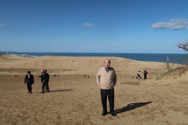鳥取砂丘ははやり広大です