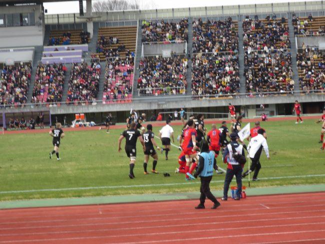 ラグビートップリーグ「ヤマハVSリコー」観戦してきました