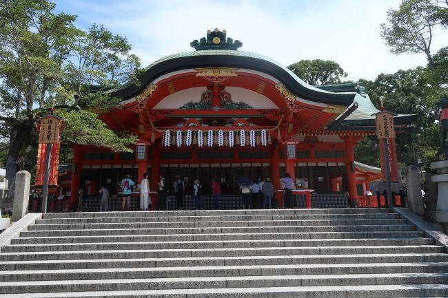 9月です。京都伏見青木の滝に行ってきました。