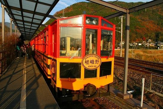 2010年 京都 嵐山 天竜寺 トロッコ列車に乗りました